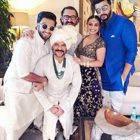 Sonam Kapoor and Anand Ahuja marriage pic
