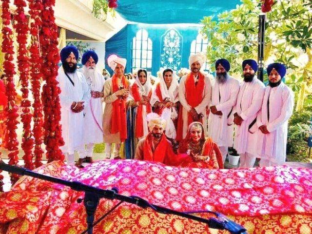 Sonam Kapoor and Anand Ahuja marriage rituals in Gurudwara