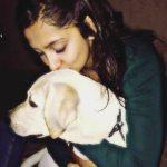 Srishti Jain loves dogs