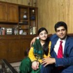 Suhaib Ilyasi with his daughter Aaliya