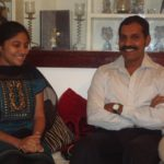Sylendra babu With His Wife