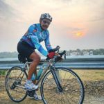 Sylendra babu doing Cycling