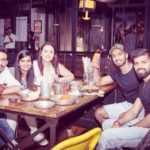 Tanishka Kapoor and Yuzvendra Chahal at a restaurant