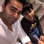 Vikas Kohli with his son Aarav
