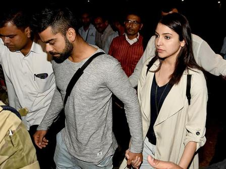 Virat Kohli and Anushka Sharma dating photos
