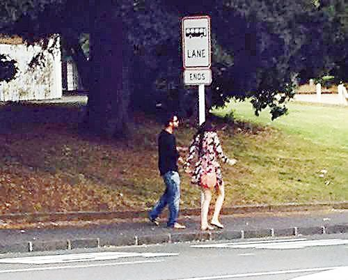 Virat Kohli and Anushka Sharma in Auckland