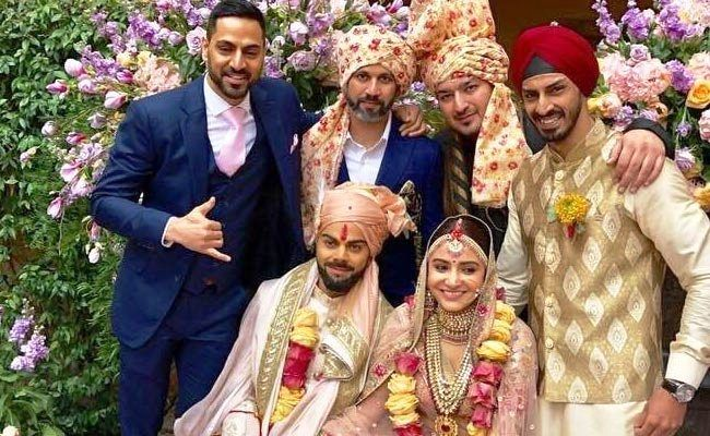 Virat Kohli marriage photos 3