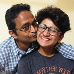 Yash Mistry with father
