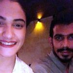 Yuzvendra Chahal and Tanishka Kapoor