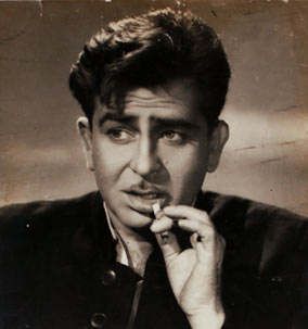 Raj Kapoor Smoking
