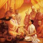 A. C. Bhaktivedanta Swami Prabhupada Taking Initiation From His Spiritual Master Bhaktisiddhanta Sarasvati Thakura