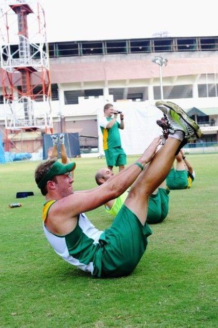 AB De Villiers Workout