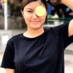 Aanchal Thakur winner of Intercollege Wushu Championships