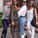 Amrita Arora with Karisma Kapoor, Gauri Khan and Malaika Arora