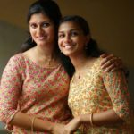 Amritha Nair with her sister