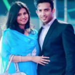 Anchor Ravi with his wife