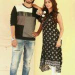 Anu Emmanuel with Raj Tarun