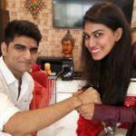 Ashmita Jaggi with brother