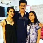 Ashmita Jaggi with parents