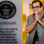 Brahmanandam- Guinness World Record