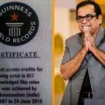 Brahmanandam- Guinness World Record