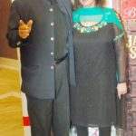 Chitra Singh With Her Husband Jagjit Singh