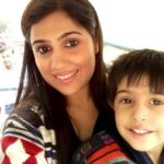 Dheeraj Sarna wife Supriya Sarna and son Shivansh Sarna