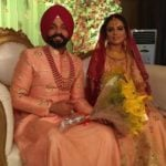 Aamber Dhillon with her husband Dilpreet Dhillon