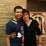 Divya Bharti Brother Kunal Bharti (Left) With Her Husband Sajid Nadiadwala (Right)