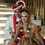 Hrishitaa Bhatt with husband