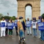Jaggi Vasudev During Rally For Rivers