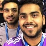 Jai Anmol Ambani (Back) With His Brother Jai Anshul Ambani (Front)