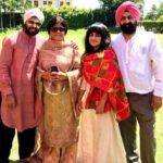 Jasleen Royal with her family