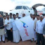 Jayant Sinha Approving The Air Services Between Ballari And Hyderabad At Jindal Airport, Ballari