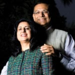 Jayant Sinha With His Wife Punita
