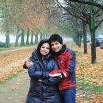 KK With His Wife Jyothi