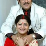 Laboni Sarkar with her husband Kaushik Banerjee