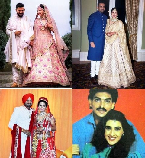 Love Stories Of Famous Cricketers And Bollywood Actresses