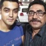 Luv Tyagi with his father, Vishal Tyagi