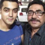 Luv Tyagi with his father, Vishal Tyagi