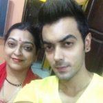 Luv Tyagi with his mother, Sunita Tyagi