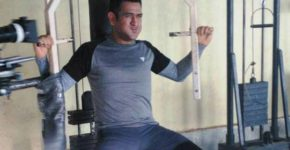 MS Dhoni Exercise
