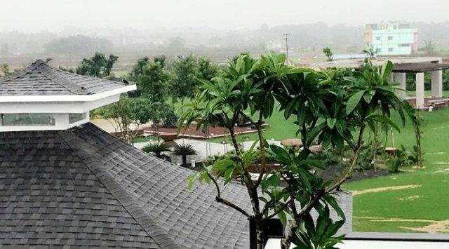 MS Dhoni Farmhouse Pictures