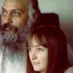 Osho with Ma Prem Nirvano (Ma Yoga Vivek)