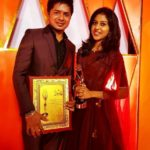 Madhu Priya received Best Playback Singer Female award
