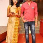 Madhu Priya with her husband Srikanth