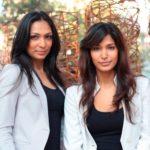 Mashoom Singha with her sister