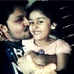 Mohit Dagga with his daughter Ashwi Dagga