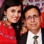 Mridanjli Rawal with her father