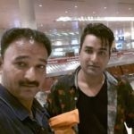 Mubeen Saudagar with brother